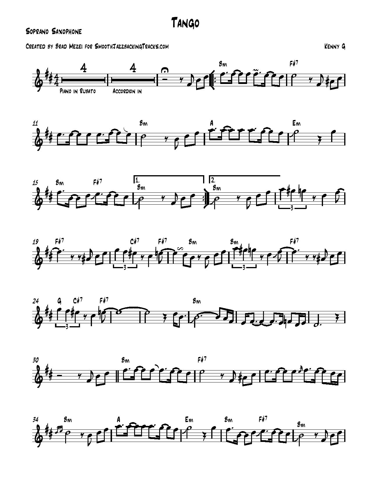 Smooth jazz sax solo sheet music k m chords included hexwebz Choice Image