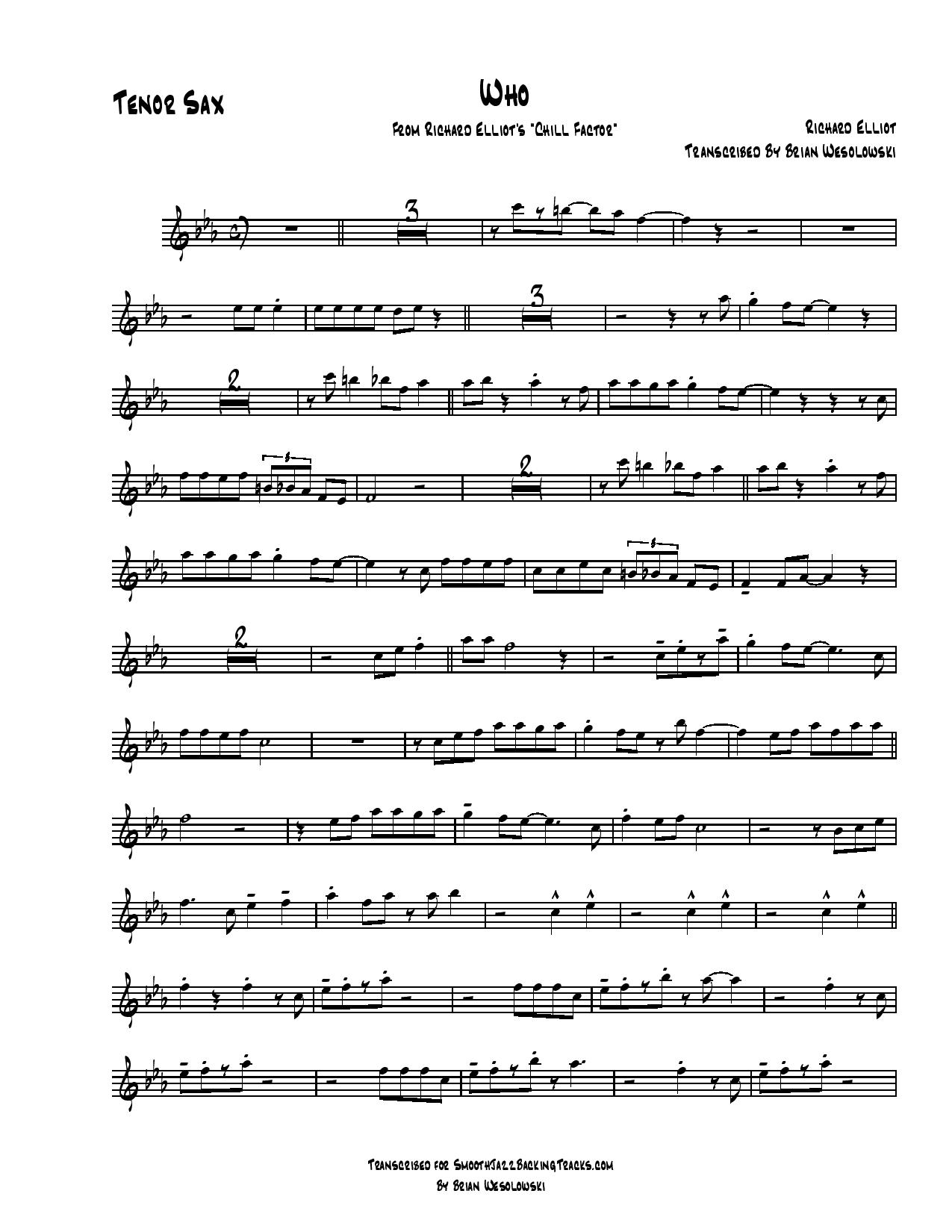 Sax Backing Tracks Alphabetical By Artist R Page 1