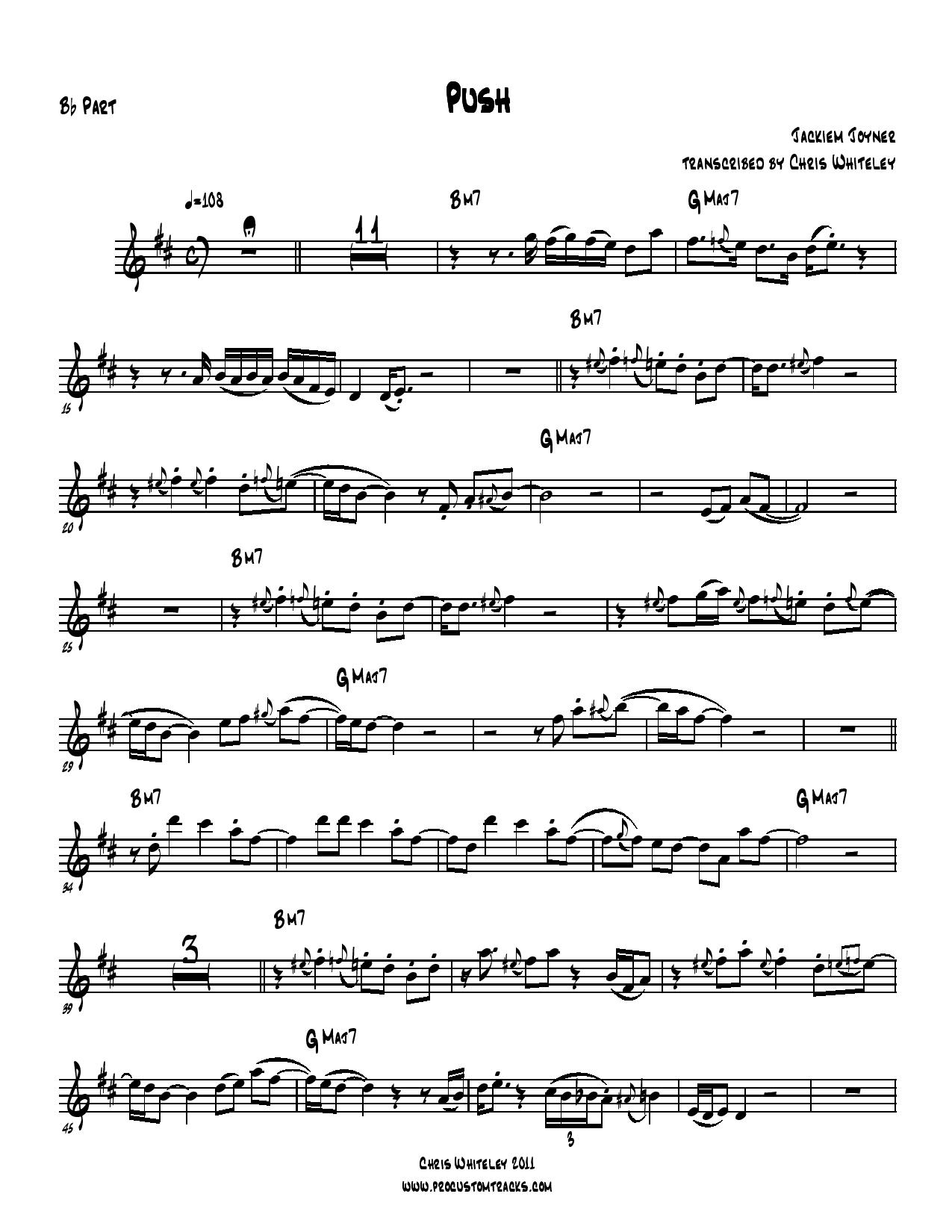 Smooth jazz sax solo sheet music e j chords included hexwebz Images