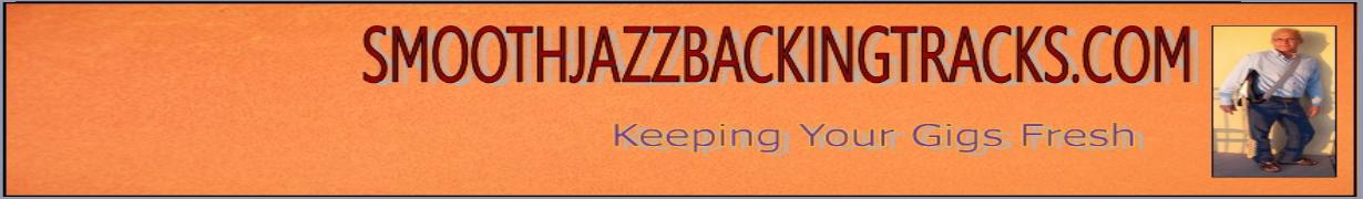 Smooth jazz backing tracks made from real smooth jazz hit songs.