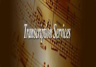 Custom sheet music transcription service. Sax solo sheet music custom transcribed just for you.